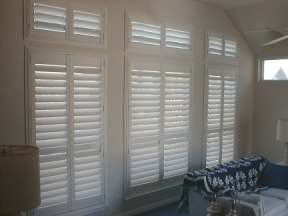 Shutters Give Excellent Light Control