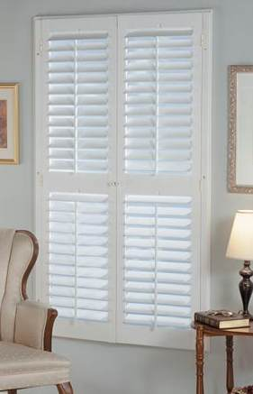 White or Oak Colors - Plantation Shutters