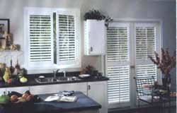 Plantation Shutters for the Kitchen