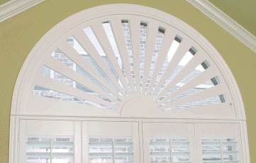 Stock And Custom Window Treatments For Arches Eyebrows