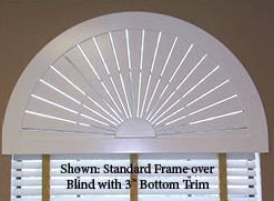 Louverlite Arch Over Blind