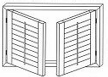 Single Or Double Hung Shutters