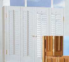 Traditional Shutters have smaller louvers